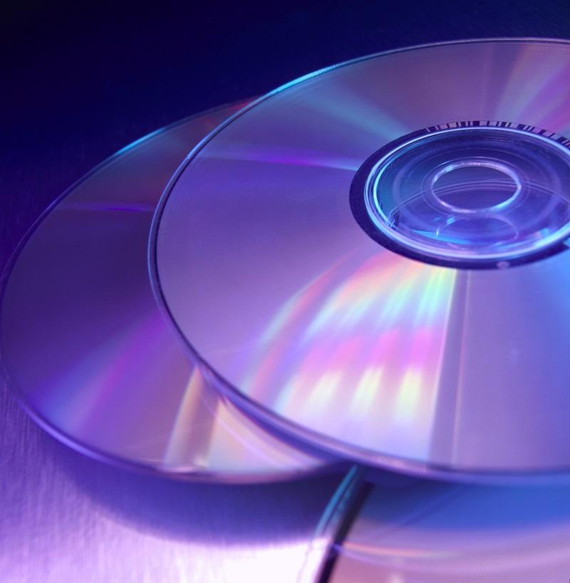 تصویری از چند CD